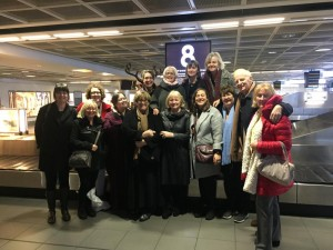Irish group back at Dublin Airport